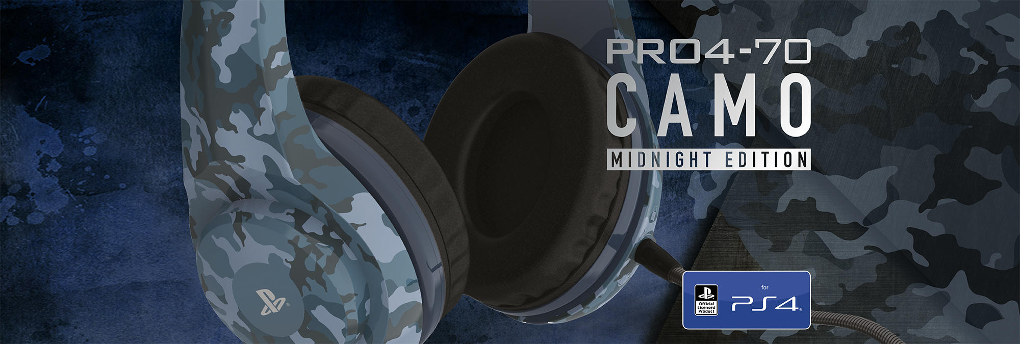 PRO4-70 CAMO Stereo Gaming Headset