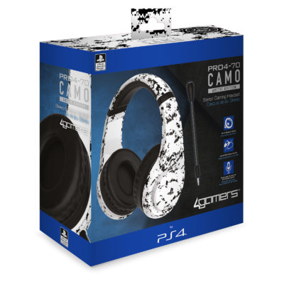 4Gamers PS4 Stereo Gaming Headset | Headset for PS4